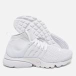 Женские кроссовки Nike Air Presto Flyknit Ultra White/White фото- 2
