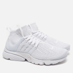 Женские кроссовки Nike Air Presto Flyknit Ultra White/White фото- 1