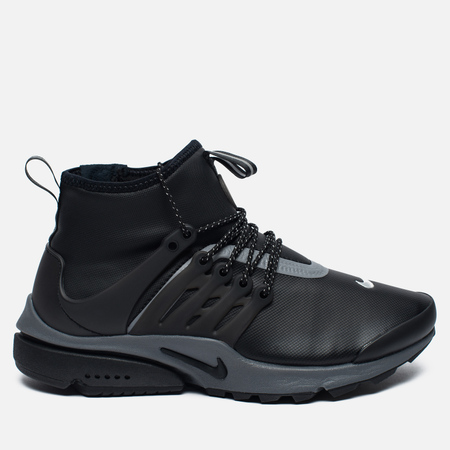 Женские кроссовки Nike Air Presto Mid Utility Black/Reflect Silver/Dark Grey