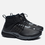 Женские кроссовки Nike Air Presto Mid Utility Black/Reflect Silver/Dark Grey фото- 2