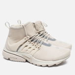 Женские кроссовки Nike Air Presto Mid Utility String/Reflect Silver/Light Bone фото- 2