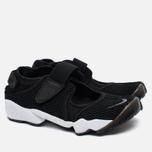 Женские кроссовки Nike Air Rift Breathe Black/White фото- 1