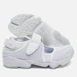 Женские кроссовки Nike Air Rift Breathe White Pure Platinum фото- 2