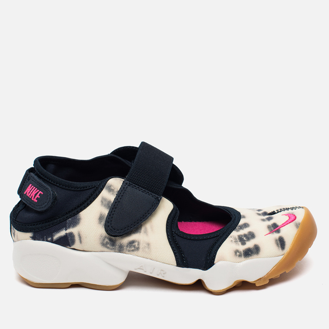 Женские кроссовки Nike Air Rift Premium QS Dark Obsidian/Vivid/Pink