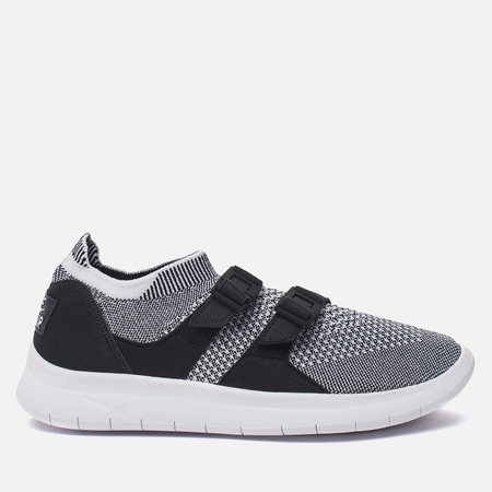 Женские кроссовки Nike Air Sockracer Flyknit Black/White/White