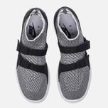 Женские кроссовки Nike Air Sockracer Flyknit Black/White/White фото- 4