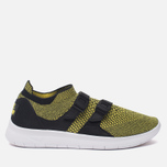 Женские кроссовки Nike Air Sockracer Flyknit Black/White/Yellow Strike фото- 0