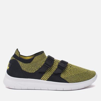 Nike Air Sockracer Flyknit Black/White/Yellow Strike