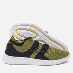 Женские кроссовки Nike Air Sockracer Flyknit Black/White/Yellow Strike фото- 1