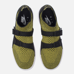 Женские кроссовки Nike Air Sockracer Flyknit Black/White/Yellow Strike фото- 4