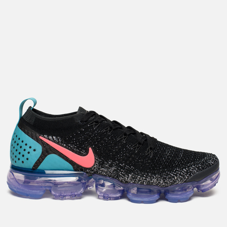 Женские кроссовки Nike Air Vapormax Flyknit 2 Black/Hot Punch/White/Dusty Cactus