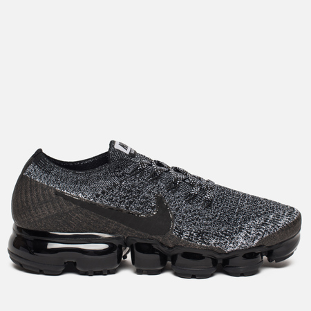 Женские кроссовки Nike Air Vapormax Flyknit Black/Black/White/Racer Blue