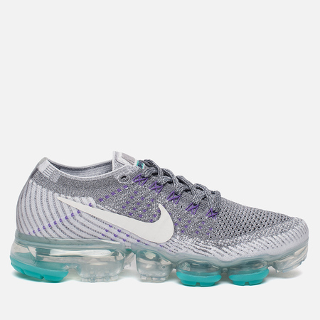 Женские кроссовки Nike Air Vapormax Flyknit Heritage Pack Cool Grey/White/Pure Platinum/Wolf Grey