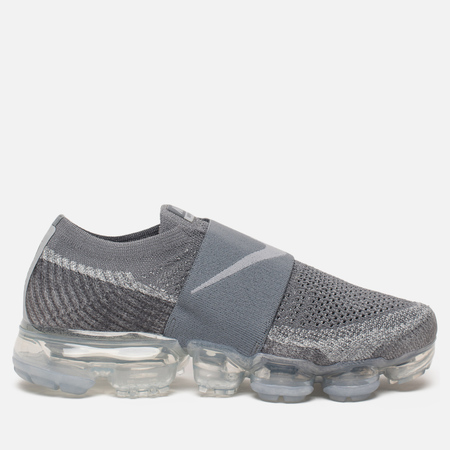 Женские кроссовки Nike Air Vapormax Flyknit Moc Cool Grey/Wolf Grey/Hot Punch/White