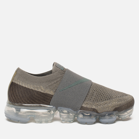 Женские кроссовки Nike Air Vapormax Flyknit Moc Dark Stucco/Neutral Olive/Light Bone/Clay Green