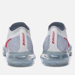 Женские кроссовки Nike Air Vapormax Flyknit Pure Platinum/University Red/Wolf Grey фото- 5