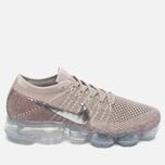 Женские кроссовки Nike Air Vapormax Flyknit String/Chrome/Sunset Glow/Taupe Grey фото- 0