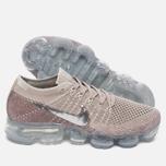 Женские кроссовки Nike Air Vapormax Flyknit String/Chrome/Sunset Glow/Taupe Grey фото- 1