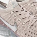 Женские кроссовки Nike Air Vapormax Flyknit String/Chrome/Sunset Glow/Taupe Grey фото- 3
