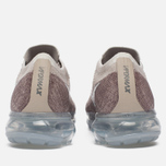 Женские кроссовки Nike Air Vapormax Flyknit String/Chrome/Sunset Glow/Taupe Grey фото- 5
