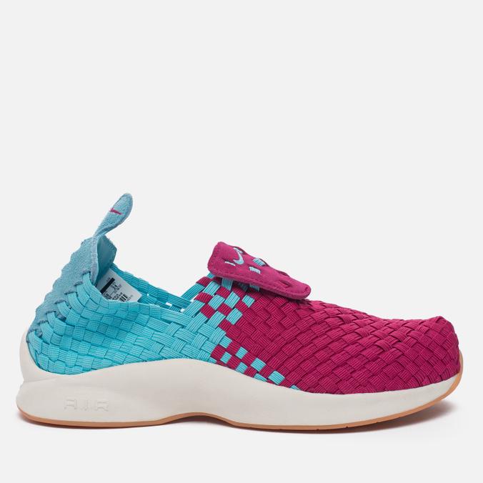 Женские кроссовки Nike Air Woven Polarized Blue/Sport Fuchia/Sail