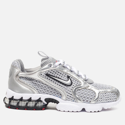 Женские кроссовки Nike Air Zoom Spiridon Cage 2 Light Smoke Grey/Metallic Silver