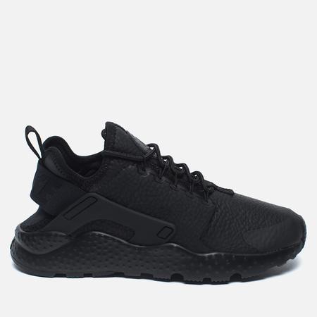 Nike Beautiful Air Huarache Ultra Premium Women's Sneakers Black/Black