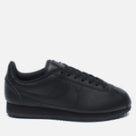 Женские кроссовки Nike Beautiful x Powerful Classic Cortez Premium Black/Black фото- 0