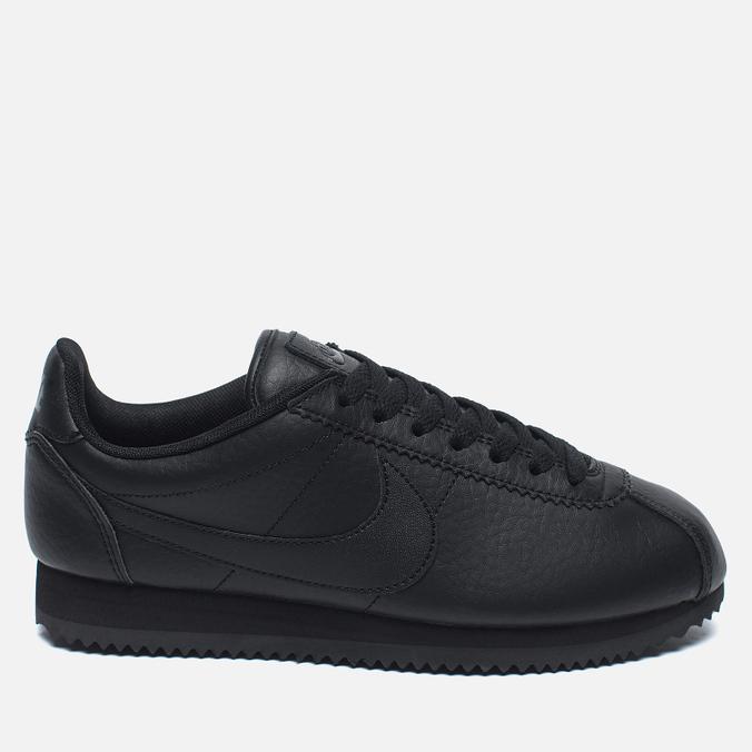 Женские кроссовки Nike Beautiful x Powerful Classic Cortez Premium Black/Black