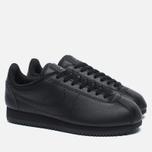 Женские кроссовки Nike Beautiful x Powerful Classic Cortez Premium Black/Black фото- 1