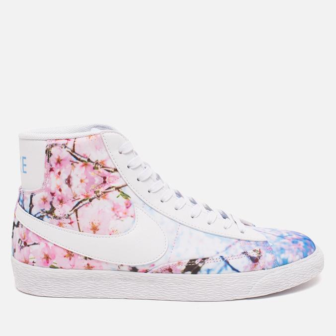 Nike Blazer Mid Cherry Blossom Pack Women's Sneakers White