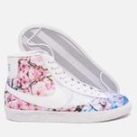 Nike Blazer Mid Cherry Blossom Pack Women's Sneakers White photo- 2