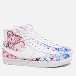Nike Blazer Mid Cherry Blossom Pack Women's Sneakers White photo- 1