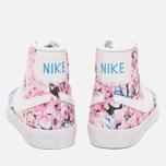 Nike Blazer Mid Cherry Blossom Pack Women's Sneakers White photo- 3