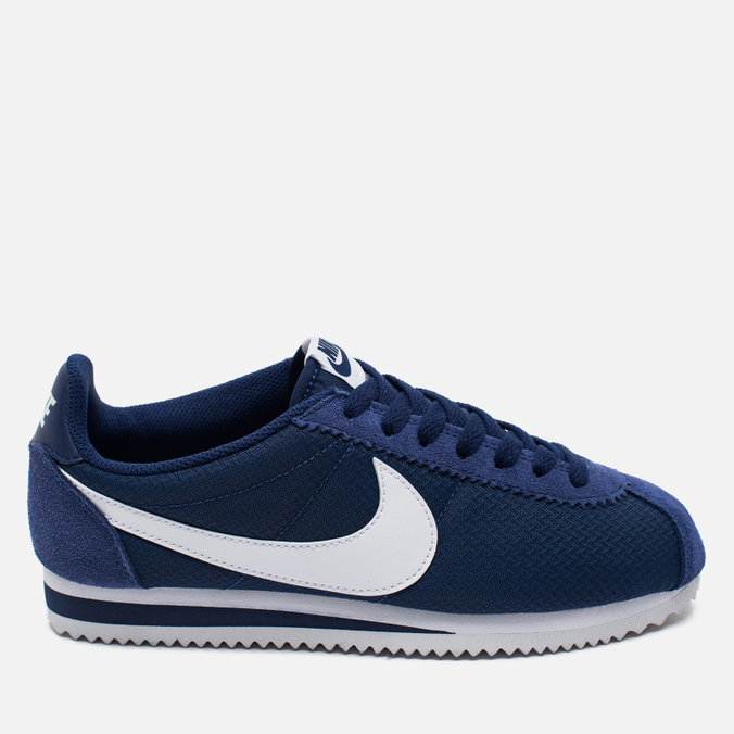 Nike Classic Cortez 15 Nylon Loyal Women's Sneakers Blue/White