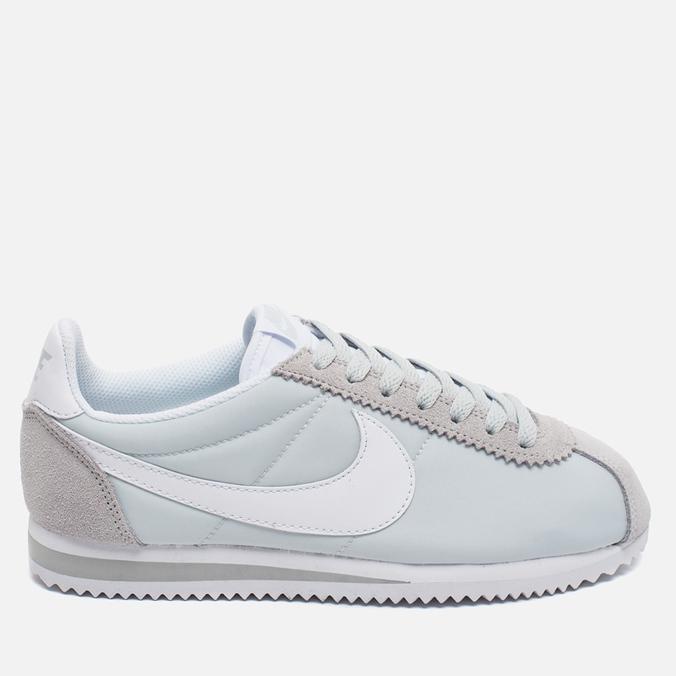 Женские кроссовки Nike Classic Cortez 15 Nylon Platinum/White