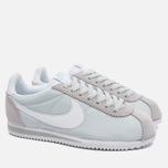 Женские кроссовки Nike Classic Cortez 15 Nylon Platinum/White фото- 1