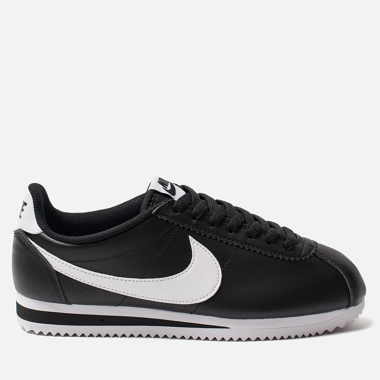 Женские кроссовки Nike Classic Cortez Leather Black/White