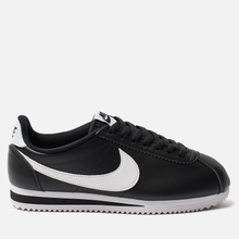 Женские кроссовки Nike Classic Cortez Leather Black/White фото- 0