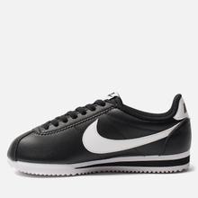 Женские кроссовки Nike Classic Cortez Leather Black/White фото- 2