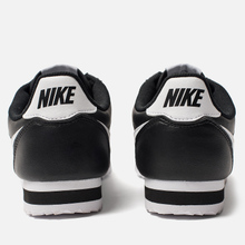 Женские кроссовки Nike Classic Cortez Leather Black/White фото- 4