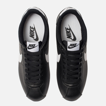 Женские кроссовки Nike Classic Cortez Leather Black/White фото- 5