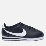 Женские кроссовки Nike Classic Cortez Leather Black/White фото- 0