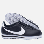 Женские кроссовки Nike Classic Cortez Leather Black/White фото- 2