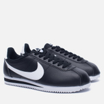 Женские кроссовки Nike Classic Cortez Leather Black/White фото- 1