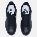 Женские кроссовки Nike Classic Cortez Leather Black/White фото- 4