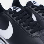 Женские кроссовки Nike Classic Cortez Leather Black/White фото- 5