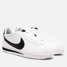 Женские кроссовки Nike Classic Cortez Leather White/Black/White фото- 0
