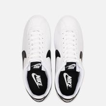 Женские кроссовки Nike Classic Cortez Leather White/Black/White фото- 1