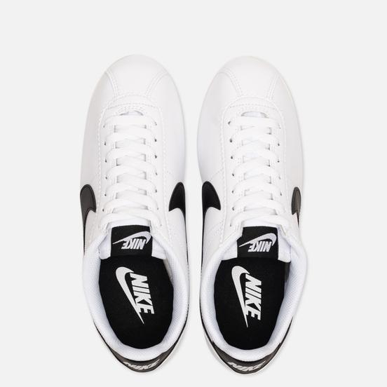 Женские кроссовки Nike Classic Cortez Leather White/Black/White